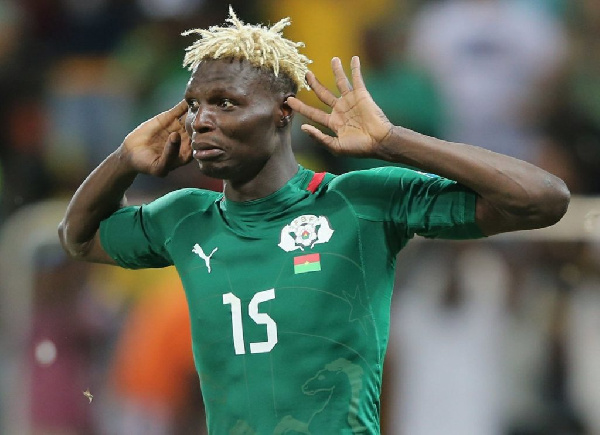 Burkina Faso legend Aristide Bance
